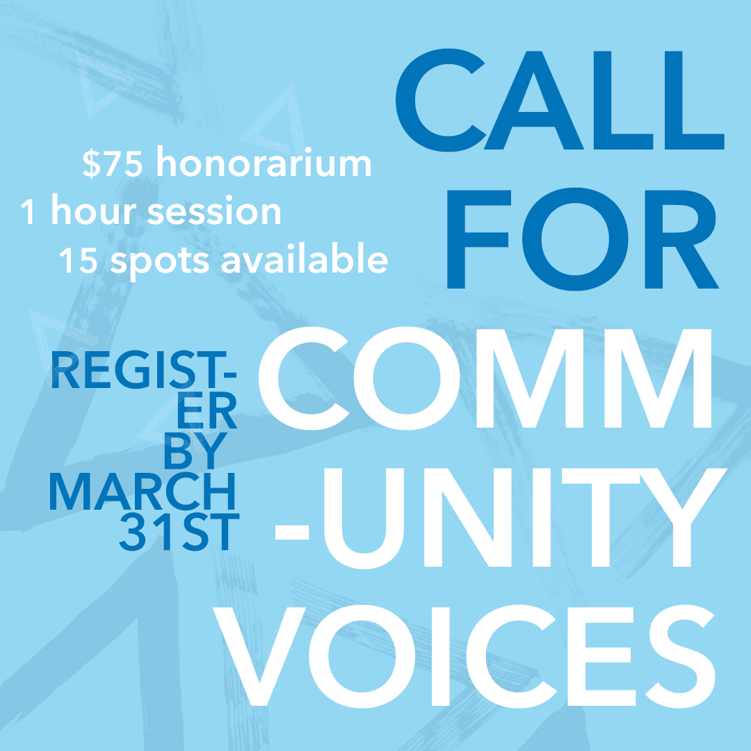 Call for Community Voices